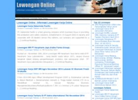 lowonganonline.com