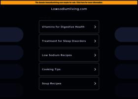 lowsodiumliving.com