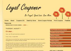 loyalcouponer.com