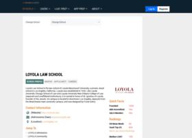 loyola.lawschoolnumbers.com