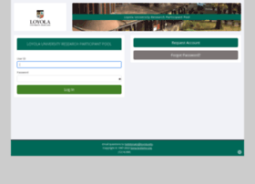 Loyola.sona-systems.com