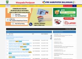 lpse.balangankab.go.id