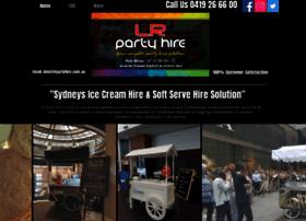 lrpartyhire.com.au