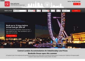 lsevacations.co.uk