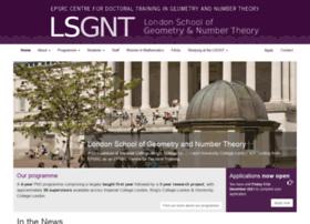 lsgnt-cdt.ac.uk