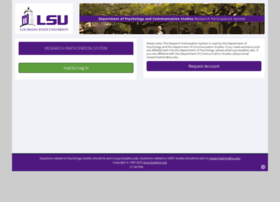 lsuhumanresearch.sona-systems.com
