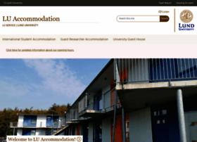 luaccommodation.lu.se
