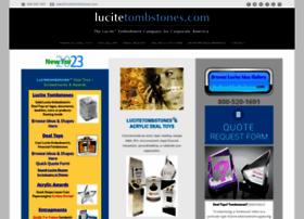 lucitetombstones.com