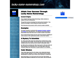 lucky-name-numerology.com