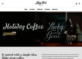 luckygoatcoffee.com