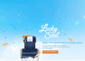 luckyseat.klm.com