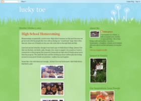 luckytoe.blogspot.com