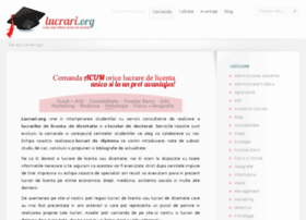 lucrari.org