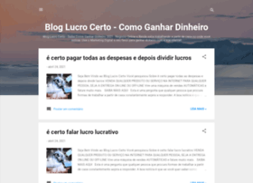lucrocertoaqui.blogspot.com