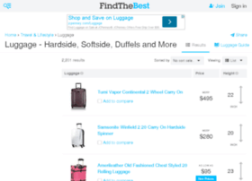 luggage.findthebest.com