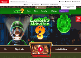 luigismansion.nintendo.com