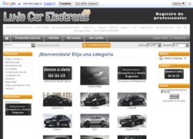 lujocarelectronic.es