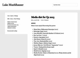 lukemuehlhauser.com