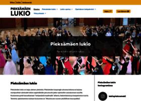 lukio.pieksamaki.fi