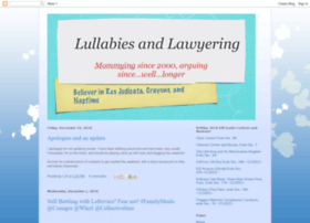lullabiesandlawyering.blogspot.com