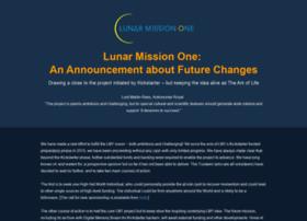 lunarmissionone.com