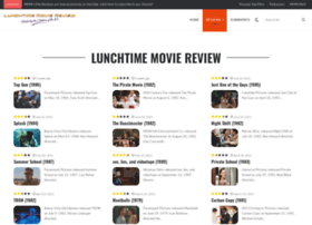 lunchtimemoviereview.com