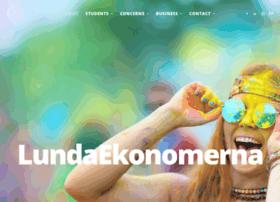 lundaekonomerna.se