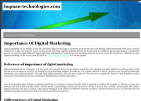 luqman-technologies.com