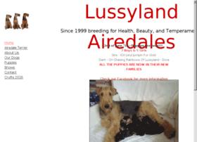 lussylandairedales.net