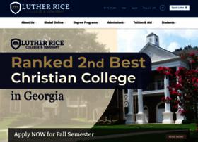 lutherrice.edu