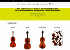 luthier-poulain.com