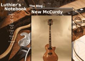 luthiersnotebook.com