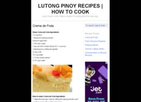 lutong-pinoy.info
