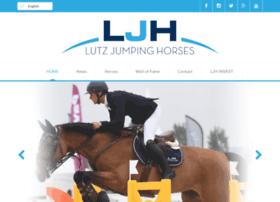 lutzjumpinghorses.com