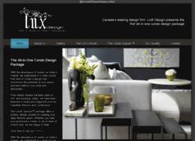 luxcondodesign.com