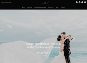 luxedestinationweddings.com