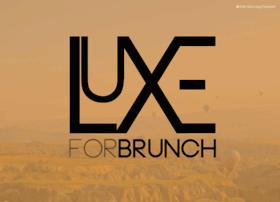 Luxeforbrunch.com