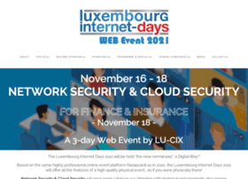 luxembourg-internet-days.com