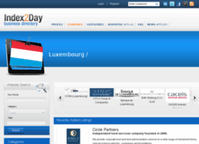 luxembourg.index2day.com