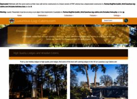 luxurious-log-cabins.com