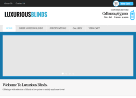 luxuriousblinds.co.uk