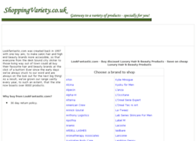 luxury-hair-beauty-products.shoppingvariety.co.uk