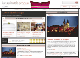 luxury-hotels-prague.com