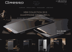 luxury.gresso.com