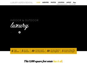 luxuryaspenrental.com