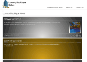 luxuryboutiquehotel.co.za