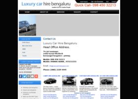 luxurycarhirebengaluru.com