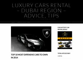 luxurycarsforrent.wordpress.com