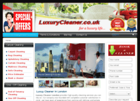 luxurycleaner.co.uk