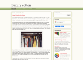luxurycotton.blogspot.in